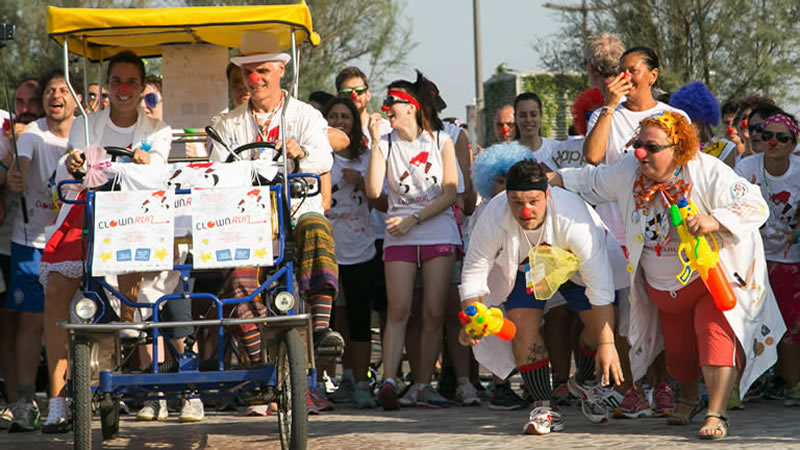 clown run riccione